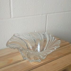 Clear Crystal Round Bowl